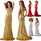 2014 Sexy Shinning Sequins Prom Party BALL Gown Evening Cocktail Pageant Dress