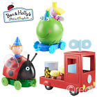 New Ben & Holly's Little Kingdom Push-Along Gaston Or Ben frog With Figure Gift