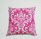 Candy Pink Damask / OzborneThrow Pillow Cover PillowCase/Sham/Toss Pillow cover