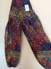Harem Hippie hippy Boho Aladdin Genie Yoga Pants Trousers  Gypsy 8 10 12 14