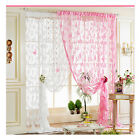 Cute Decorate Butterfly Tassel String Door Curtain Window Room Divider 8-color #