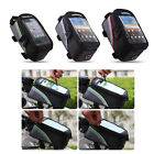 """Roswheel Front Tube Bag Case Cycling Bicycle Frame Pannier Cell Phone 4.8"""" CO"""