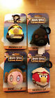 Angry Birds Star Wars Plush Backpack Clip Keyring NEW Pick Your Own Luke Leia