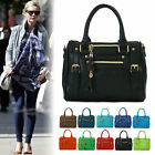 New Womens Ladies Tote Shoulder Handbag Korean Fashion Faux Leather Hobo Bag
