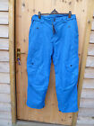 BENCH LARGO BLUE SKI PANTS WATERPROOF BREATHABLE 5000 XXL WINDPROOF INSULATED