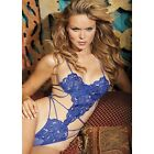 Shirley Of Hollywood Glamour Chopper Bar Lace and Mesh Teddy 25247