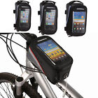 "Cycling Frame Bicycle Panniers Front Tube Bag for Mobile Phone 5.5""/4.8""/ 4.2"""