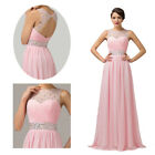 NEW CHARMING Designer Long Bridesmaid Formal Gown Ball Evening Prom Party Dress