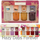 Yankee Candle Limited Edition Gift Sets 4 VOTIVES & 4 HOLDERS samplers various