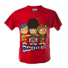 Kid's T-Shirt - 3 Friends Scotland - Great Gift - Ages 2 to 14!