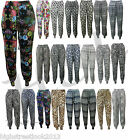 New Ladies Womens Full Length Ali Baba Harem Hareem Pants Trousers Size S M L XL