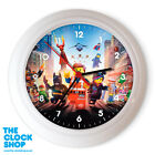 The Lego Movie Wall Clock, Choice of 3, Brand new, boxed *FREE DELIVERY*