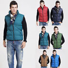 New Men's Quilt Padded Body Warmer Gilet Jacket Sleeveless Winter Outerwear Coat