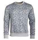 Original Penguin OPKF4029 Gentleman Print Mens Sweatshirt Rain Heather