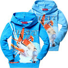 Kids Planes Dusty Boys Girls Long Sleeve Hoody Hoodie Unisex Tops Size:2-8 Years