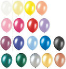 """100 50 PEARLISED TOP QUALITY 12"""" LATEX HELIUM BALLOONS WEDDING  BIRTHDAY PARTY"""