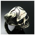 The Stigma Skull Ring 925 Sterling Silver Design by Moon Silver - No.150
