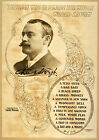 Photo Printed Old Poster: Theatre Flyer 1800s Chas Hoyt Directed By Frank Wright