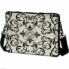 ACME Black & white Laptop Sleeve For MacBook/tablet 13.3 or 15.4 inch With Strap