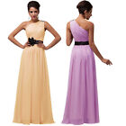 LONG BRIDESMAID FORMAL GOWN WEDDING BALL PARTY COCKTAIL EVENING PROM MAXI DRESS