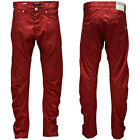 Jack and Jones Dale Twisted Chinos Chino Trousers Jeans  28 30 32 34 36 38  Red