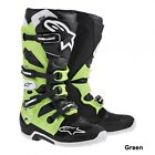 Alpinestars Tech 7 Boots Black&Green Size 5,6,7,8,9,10,11,12,13,&14 Gaerne Sidi