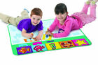 Children Aquadoodle Rainbow Mat/Whiteboard Pen Stencil n Aqua draw Water Drawing
