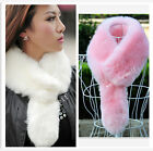New women's imitation fox fur small tail scarves shawls fur fake fur collar