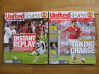 Manchester United Home Football Programmes 2006/2007 Season Inc FA Cup Quarter