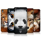 HEAD CASE DESIGNS ANIMAL FACES CASE COVER FOR HTC DESIRE 816