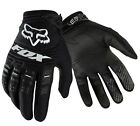 Fox Racing Dirtpaw Black Dirt Bike Gloves Motocross MX ATV 2014