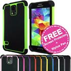 Shockproof Heavy Duty Case Hard Tough Shock Cover for Samsung Galaxy S5 SV i9600