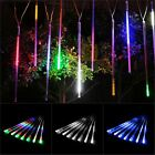 8 Tubes Waterproof LED Light Strip Party Decor Lamp Meteor Shower Rain
