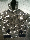 URBAN CAMO HOODY NEW LONG SLEEVED ZIP FRONT