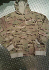MULTICAM HOODY LONG SLEEVE ZIP FRONT NEW