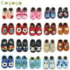 Sayoyo Soft Sole Cow Leather Shoes Baby Boy Girl Kids Infant Toddller 0-36 MTHS