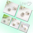 Crystal Rhinestone Pearl Strass Curlies Wedding Clips Hairpins Twists Spins Pin