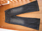 55DSL PACKERING PANT wide flared leg jeans 28 WAIST UK 10 SMALL BNWT!!