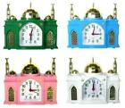 Mosque Shape Battery Alarm Clock Azan Islamic Moslem Call to Prayer