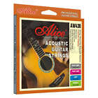 ACOUSTIC GUITAR STRINGS phosphor bronze CUSTOM LIGHT MEDIUM steel anti rust