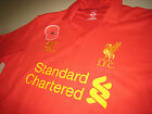 Liverpool WARRIOR 2012-13 Poppy Remembrance Home Short-Sleeve Replica Shirt
