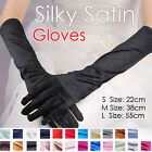 S/M/L Gloves Burlesque Satin Costume Gangster Wedding Party Prom Opera Halloween