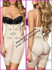 Body Shaper With Free Bust and Straight Back, Faja Reductora Nude, Moldeate
