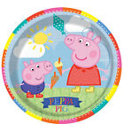 Peppa Pig & George Childrens Birthday Party Plates 8, 16, 24, 32, 40, 48