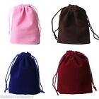 20PCs 10cmx15cm Velvet Drawstring Jewelry Gift Bags Pouches Wedding Favor HOT