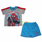 BNWT Spiderman Spider Man Summer Pyjamas Pajamas Pjs SZ 2,3,4,5,6,8