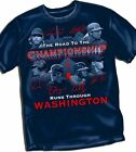 The Road to The Championship Washington Nationals  - Adult Sizes Brand New