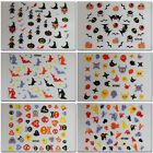 Halloween 3D Nail Art Stickers - Pumpkins, Bats, Witches PLUS BUY 1 GET 1 FREE!
