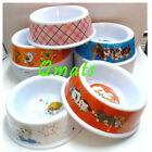 """1 pc NEW Medium 6"""" CUTE PLASTIC PET FOOD DISHES BOWLS CAT DOG FEEDER WHOLEASALE"""