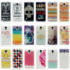 Colorful Hybrid Hard Back Case Cover Skin For Samsung Galaxy Note 4
